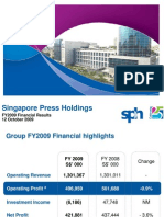 FY2009 Financial Results