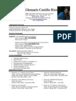 Curriculum Vitae Ing. Sistemas