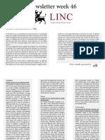 Newsletter LINC Week 46