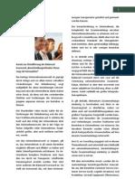 EQ. on Deutschland GmbH - Konzept zur bereichsübergreifenden Steuerung mit Kennzahlen - Zusammenfassung