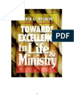 Excellecy in Life & Ministry,,