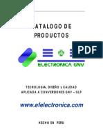 Catalogo Produstos Electronica GNV