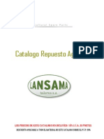 Catalogo Recambio Agricola