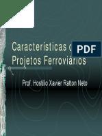 Caracteristicas Dos Projetos Ferroviarios