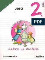 Caderno de Atividades 2º Ano Português