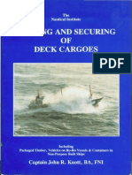 Lashing and Securing Deck Cargo