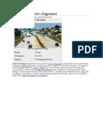 Rencana Jalan Tol