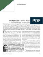 The Myth of the Nassau Mausoleum