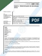 NBR 11941 (Mar 2003) - Madeira - Determinação Da Densidade Básica