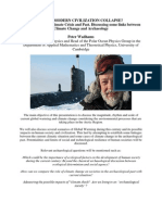 Peter Wadhams Presentation on Global Warming and Climate Change