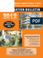 Information Bulletin 2012 Poly