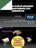Audit Atas Alokasi Anggaran