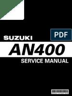 Suzuki Burgman an 400 K3 K6