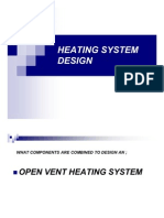 Heating System Design (Student)
