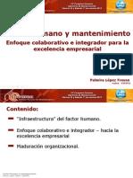 21. Ing. PalmiraLopez Fresno Factor Humano y Mantto