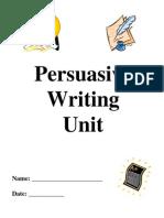 persuasivewritingunitandrubric