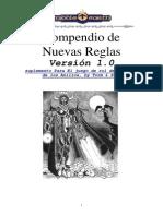 Compendio de Nuevas Reglas 1.0 sdla a d&d