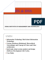 MIS & DSS(UNIT-I)