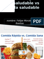 Saludable y No Saludable