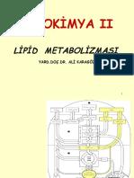 2008-2009+Biyokimya+II+Lipid+Metabolizması