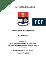 Metrologia Consulta 5 Epn