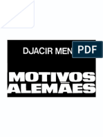 Djacir Menezes - Motivos Alemães