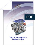 Fiat Bravo 1.4 Tjet Engine