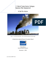 MARF Report - The 9-11 World Trade Center Collapse Asbestos Risk Assessment - A Call for Action (
