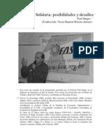 Economia Solidaria Posibilidades y Desafios