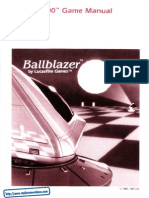 Ballblazer - Manual - A78