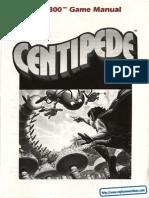 Centipede - Manual - A78