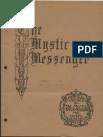 The Mystic Messenger, February 1943