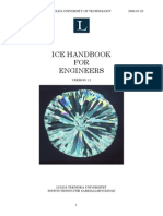 Ice Handbook for Engineers