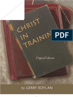 Christ in Training - Large Print