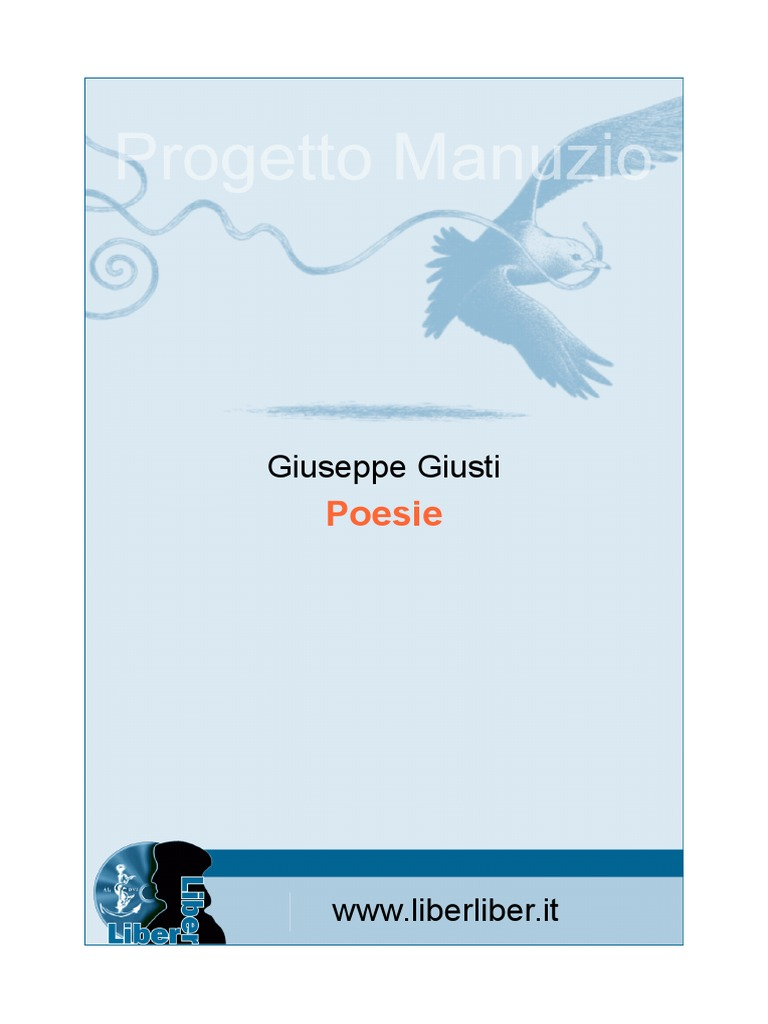 Giusti Poesie 9d9b880baa20