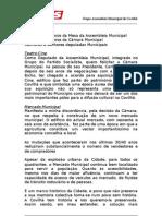 Intervenção do Dr. Carlos Casteleiro na Assembleia Municipal