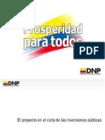 Proyectos de Inversion Publica