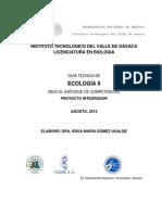 Guia Tecnica Ecologia II a