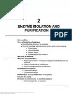 aislamiento y purificación de enzimas