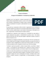 Projecto de Resolução (PEC 2010-2013)
