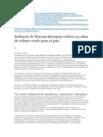 LC, refinería barrancabermeja Colombia resumen