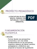 Proyecto Pedagogico