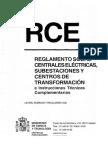 RCE Reglamento Centrales Eléctricas