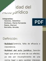 DER.civ. III - Nulidad Del Acto Juridico PPT