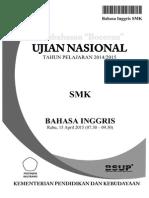 Pembahasan Bocoran Soal UN Bahasa Inggris SMK 2015 by Pak-Anang.blogspot.com
