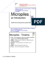 Micro Pile