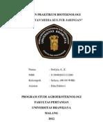 Laporan Bioteknolgi_Pembuatan Media Kultur Jaringan PDF