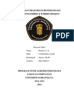 Laporan Kultur Embrio PDF