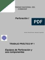 Perforacion Herramientas y Equipos.