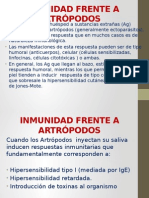 Inmunidad Frente a Artrópodos